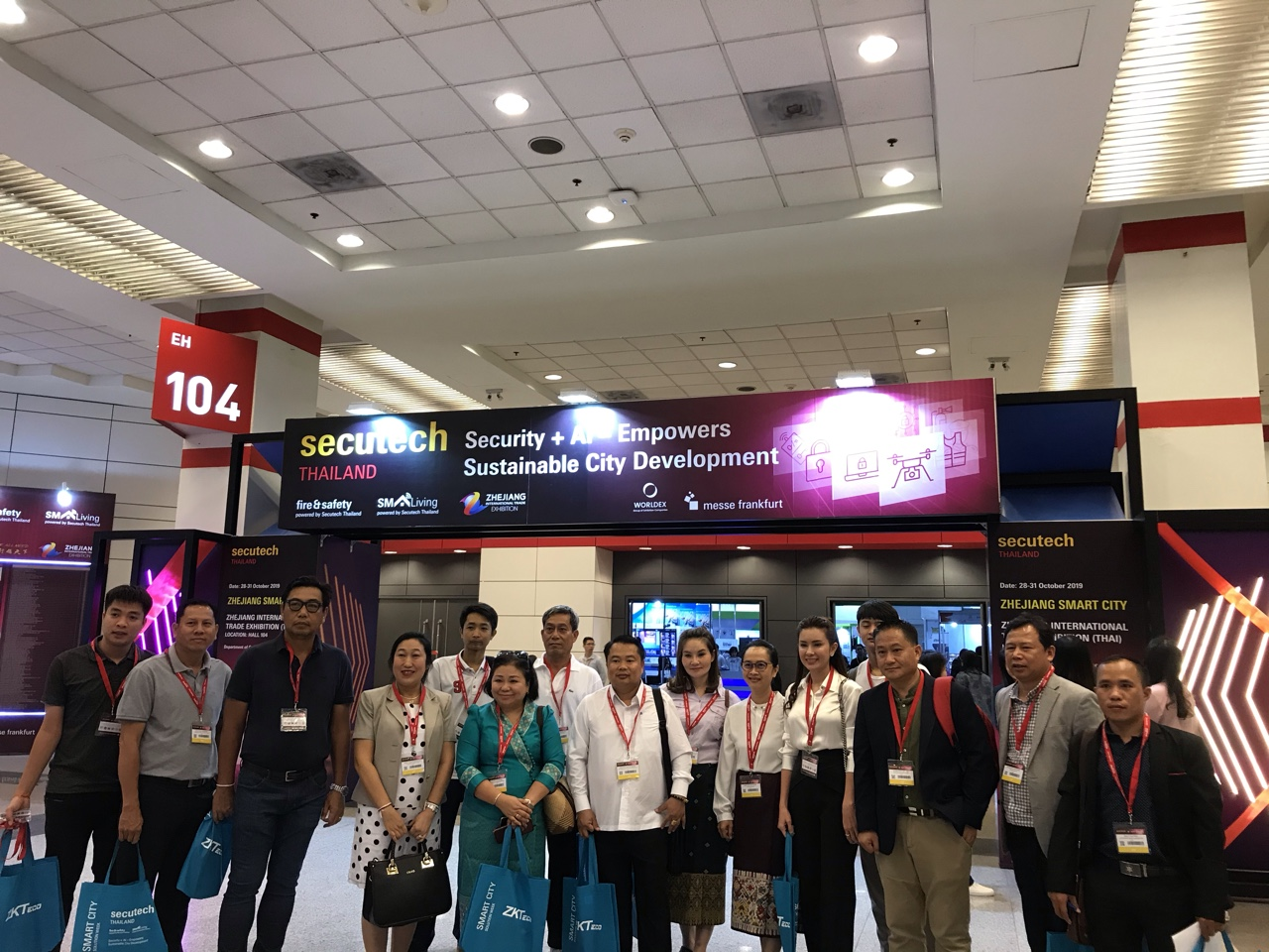 Secutech Thailand 2019_Delegations_Laos Business Women's Association_2