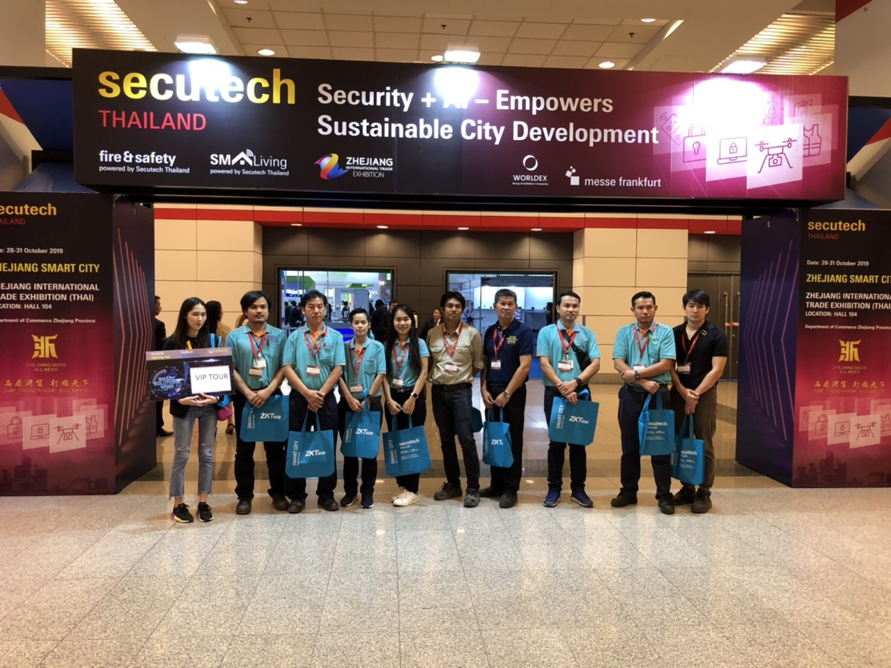 Secutech Thailand 2019_VIP Tour_Chokchai Engineering